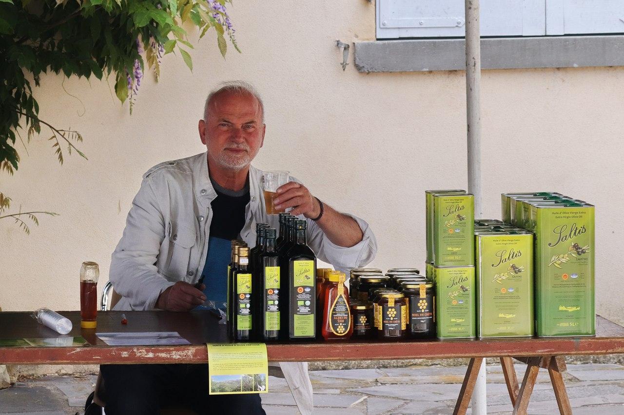 Saltis : Huile d'olives extra vierge AOP ou Bio de Crète