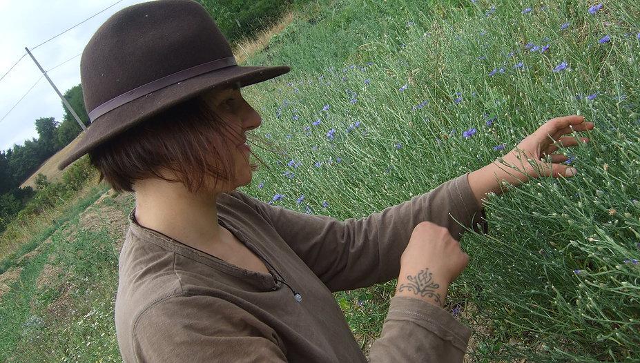 ROUSSEAUX Aurélie, Le chant fleuri, plantes aromatiques à Paslières