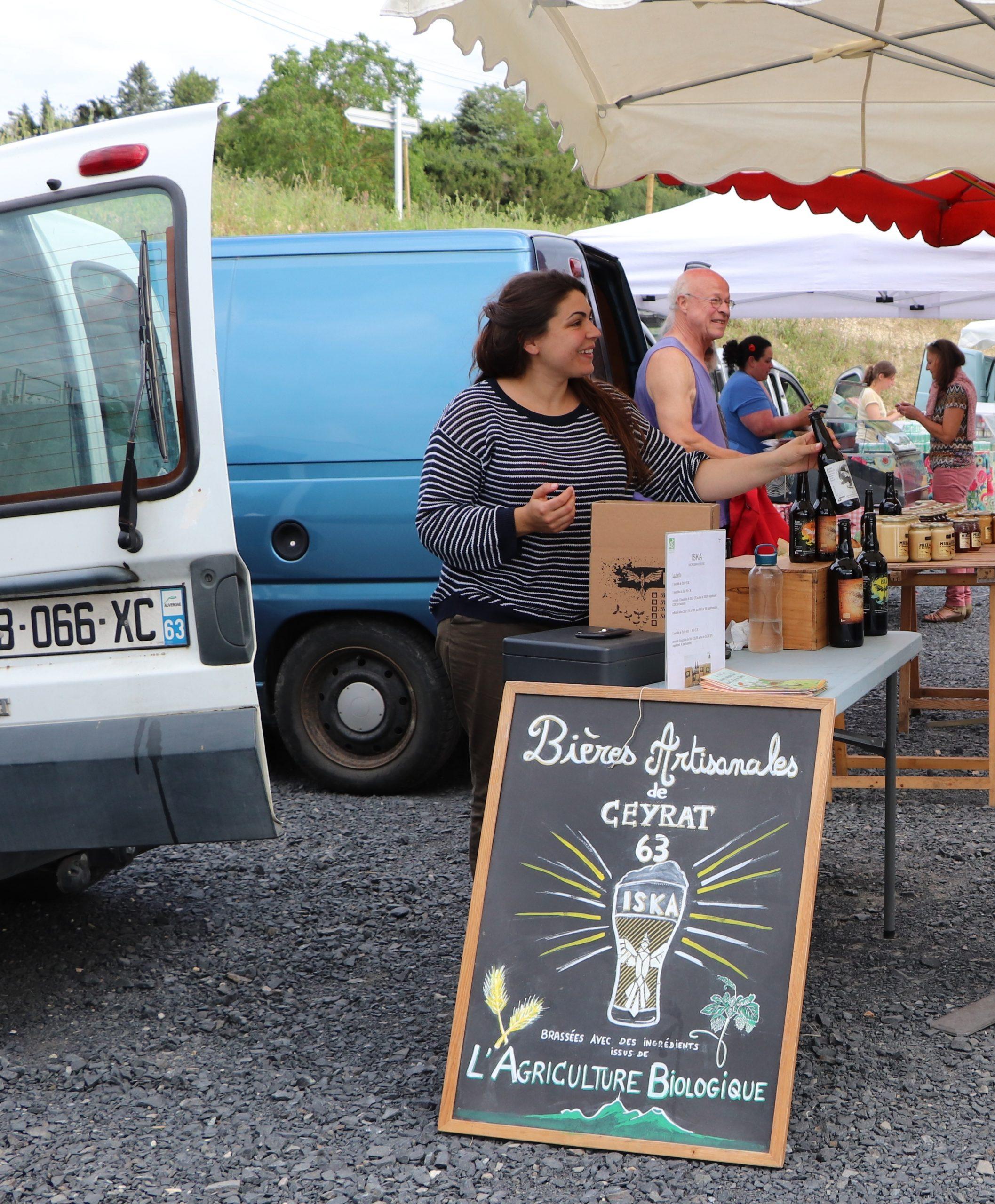 Micro Brasserie ISKA : Bières AB